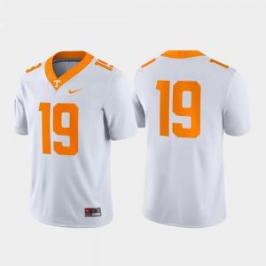 Official Game #19 Mens UT Jersey White 637259-793