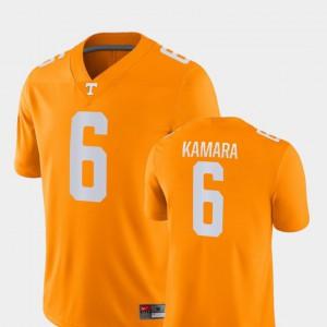 #6 UT Volunteer Alvin Kamara Jersey Orange Alumni Men Game College Football 561306-835