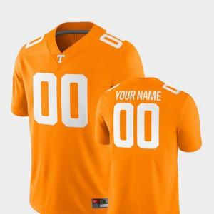 Tennessee Custom Jerseys Mens Tennessee Orange 2018 Game #00 NCAA College Football 250827-760