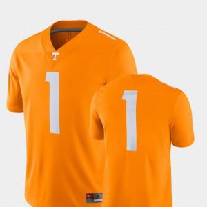 College Football Tenn Orange Player Mens Tennessee Jersey 2018 Game #1 563904-742
