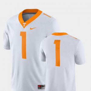 White College Football For Men's #1 2018 Game Tennessee Vols Jersey Player 657785-256