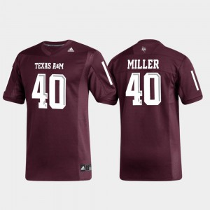 Aggies Von Miller Jersey For Men's University #40 Maroon Replica Alumni Football 694676-901