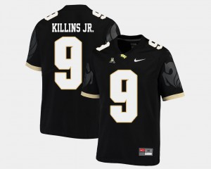 American Athletic Conference Black #9 University of Central Florida Adrian Killins Jr. Jersey For Men Embroidery College Football 650335-226