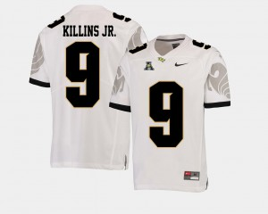 Men's University of Central Florida Adrian Killins Jr. Jersey American Athletic Conference High School White College Football #9 762623-651