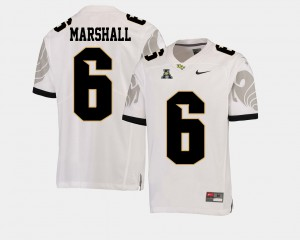 #6 College Football American Athletic Conference University of Central Florida Brandon Marshall Jersey White Men's High School 232695-510