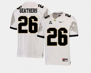 UCF Knights Clayton Geathers Jersey #26 Alumni White American Athletic Conference Men's College Football 151601-397