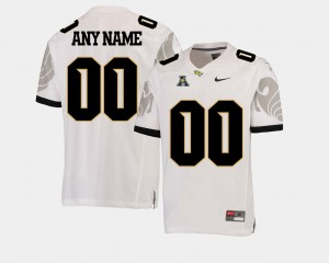 White College Football Men's American Athletic Conference Stitched #00 UCF Knights Customized Jerseys 867016-984