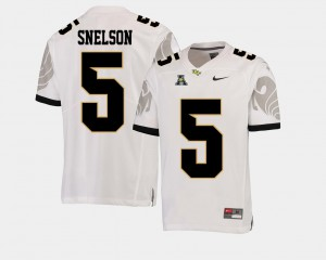 University College Football American Athletic Conference For Men's White UCF Knights Dredrick Snelson Jersey #5 871152-488