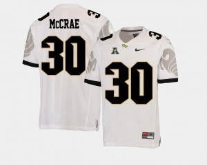 American Athletic Conference UCF Knights Greg McCrae Jersey Men #30 College Football NCAA White 996948-674