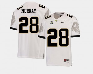Men's College Football #28 UCF Knights Latavius Murray Jersey American Athletic Conference High School White 452500-770