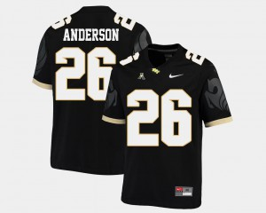 For Men UCF Knights Otis Anderson Jersey College Football #26 American Athletic Conference Black Official 824599-378