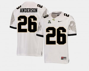 Men's UCF Knights Otis Anderson Jersey College Football White American Athletic Conference Player #26 575004-213