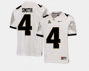 White American Athletic Conference #4 NCAA Knights Tre'Quan Smith Jersey Men College Football 418048-477