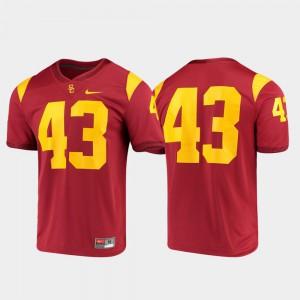 Trojans Jersey Cardinal Game University Mens #43 811397-985