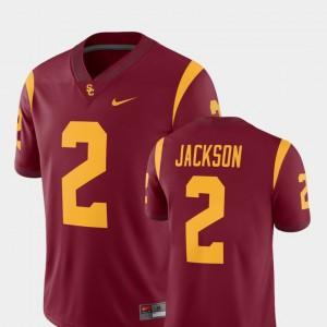 Cardinal Official Trojans Adoree' Jackson Jersey College Football #2 Alumni Player For Men's 155107-921