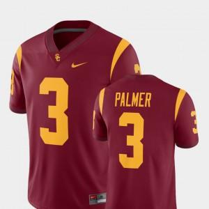 Mens #3 College Football Alumni Cardinal Alumni Player Trojans Carson Palmer Jersey 768515-319