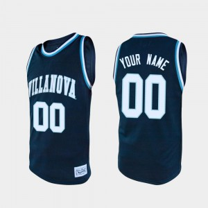 Alumni Navy Villanova Wildcats Customized Jerseys #00 Embroidery Men College Basketball 163864-740