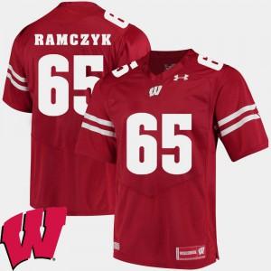Alumni UW Ryan Ramczyk Jersey #65 Alumni Football Game 2018 NCAA Red Men's 117880-219