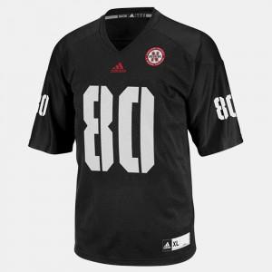 #80 Black Official College Football Nebraska Kenny Bell Jersey Kids 632149-167