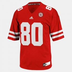 Red Youth(Kids) College Football #80 College University of Nebraska Kenny Bell Jersey 281714-467