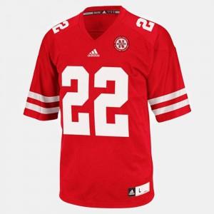 Alumni College Football #22 University of Nebraska Rex Burkhead Jersey Red Youth(Kids) 627001-206