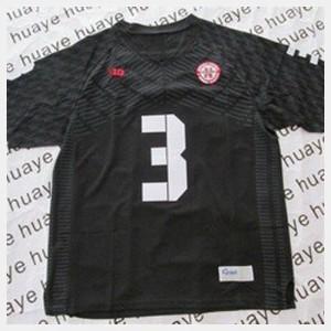Black Kids College Football High School University of Nebraska Taylor Martinez Jersey #3 734653-926