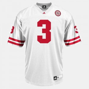 University White Nebraska Taylor Martinez Jersey #3 Men's College Football 208676-976