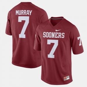 University Crimson Alumni Football Game Sooners DeMarco Murray Jersey #7 Men's 363243-849