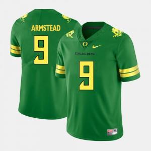 University of Oregon Arik Armstead Jersey Men's #9 College Football Green University 733646-553