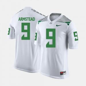 Men's White UO Arik Armstead Jersey #9 NCAA College Football 718090-671