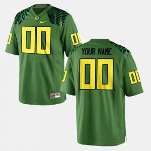 Mens College Football NCAA Ducks Custom Jersey Green #00 524072-874