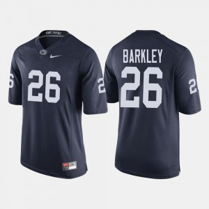 Player #26 Penn State Saquon Barkley Jersey For Men's College Football Navy 826633-914