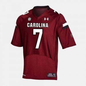 Red College Football #7 Stitched USC Gamecock Jadeveon Clowney Jersey Kids 536005-273