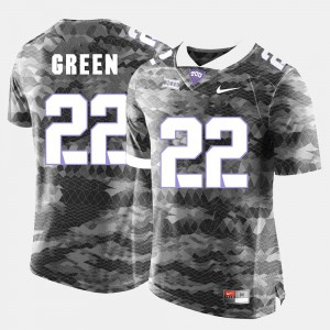 #22 Grey Texas Christian Aaron Green Jersey College Football For Men's Official 588821-379