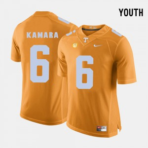Orange Vols Alvin Kamara Jersey Stitched College Football #6 Youth 973779-725