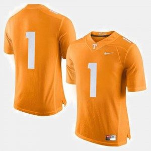Orange College Football Official Tennessee Vols Jersey #1 Men's 306960-525