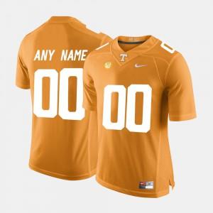 College Men TN VOLS Custom Jerseys College Limited Football #00 Orange 359314-532