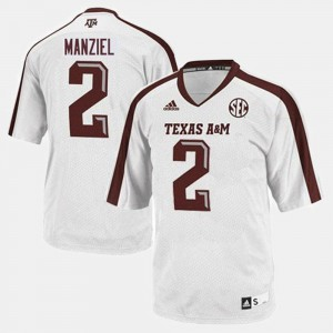 White College Mens College Football Texas A&M Johnny Manziel Jersey #2 899427-244