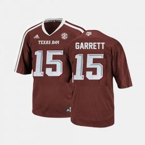 College Football Men Embroidery Red #15 TAMU Myles Garrett Jersey 664446-298