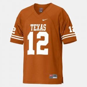 Orange Stitch College Football For Men's UT Colt McCoy Jersey #12 343662-303