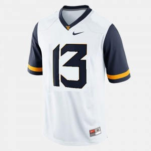 White West Virginia University Andrew Buie Jersey College Football #13 Official Kids 873550-531