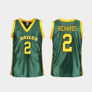 Replica Baylor DiDi Richards Jersey Player College Basketball #2 Green For Women 755113-213