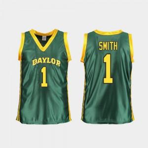Green #1 Replica College Basketball Baylor Bears NaLyssa Smith Jersey University Women 255724-145