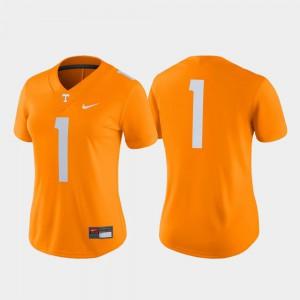 NCAA Tennessee Orange Game College Football Tennessee Volunteers Jersey #1 Ladies 599579-540