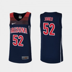 Youth(Kids) Replica Navy #52 College Basketball Wildcats Kory Jones Jersey Embroidery 750748-189