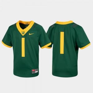 Untouchable Kids Football Baylor University Jersey Green #1 College 350972-843