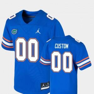 College Football Florida Gators Custom Jersey Youth(Kids) Game College Royal #00 632536-970