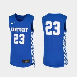 Royal High School Wildcats Jersey #23 Youth(Kids) Basketball Replica 866580-555