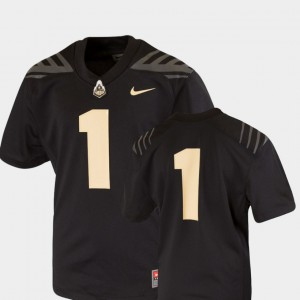 Kids Team Replica Black College Football College Purdue Jersey #1 536523-452