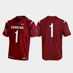 Replica South Carolina Jersey Garnet Youth Football 2019 Official #1 803186-358
